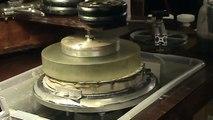 "Homemade polishing machine,Grinding 10"" pyrex  telescope mirror"