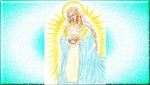 Dans l'Incarnation, Jésus vivant en Marie (cantique de St Louis-Marie Grignion de Montfort)