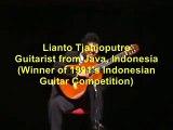Lianto Tjahjoputro-Toccata & Fuga BWV 565- (guitar)J S  Bach - Toccata und fugue in d minor