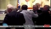 Alabama Senator Charles Bishop Punches Senator Lowell Barron