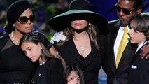 Paris Jackson sings a Tribute at Michael's Funeral