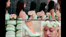 Mint&Peach Wedding Theme