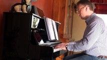 J'te l'dis quand même au piano avec le sosie vocal de patrick bruel comme chanteur