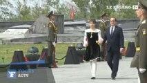 Hollande se recueille en Arménie pour le centenaire du génocide