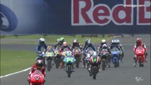 VIDEO : Clash :entre deux motards en plein Grand Prix Moto - GP MOTO