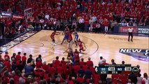 Stephen Curry Forces OT with Amazing Three's Buzzer Beater!!
