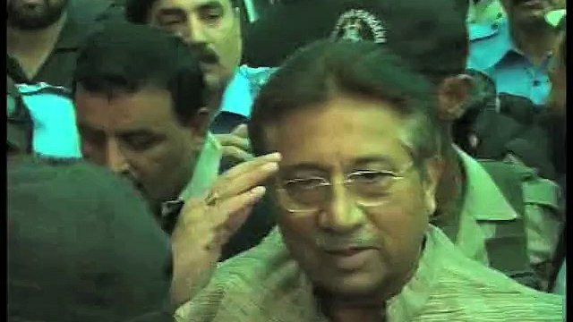 Dunya News - Musharraf granted one-day exemption in Judges' detention case