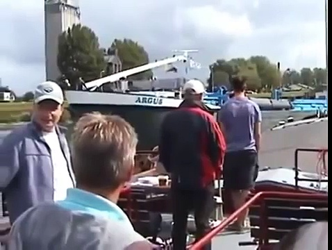 Idiot Boat Captain Hits Several Boats
