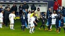 Beckham Ayew Incident en entier puis Zlatan puis SAKO AYEW ... PSG OM 27-02-2013