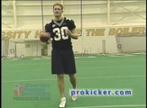 Punting the football with Travis Dorsch Ray Guy Award winning punter