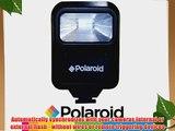 Polaroid Studio Series Pro Slave Flash Includes Mounting BracketFor The Canon Powershot SX130