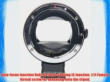 Signstek Newest Version Electronic Auto Focus EF-NEX EF-EMOUNT FX Lens Mount Adapter for Canon