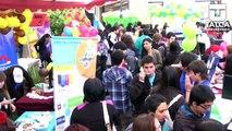 Innovadores proyectos presentaron estudiantes en Feria del Emprendimiento