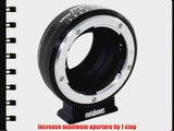 Metabones Nikon G Lens to Sony NEX Camera Speed Booster