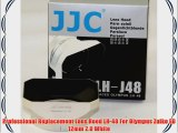 Professional Replacement Lens Hood LH-48 For Olympus Zuiko ED 12mm 2.0 White