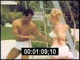 1960s women dancing compilation - mixed color film stock footage