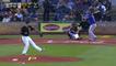 Une spectatrice frappée par une balle de baseball