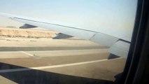 Etihad Airways Abu Dhabi takeoff