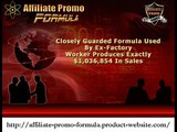Affiliate Promo Formula - Module 2 - Video review