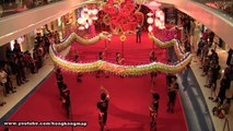 Chinese New Year - Dragon Dance @ Festival Walk - Kwok's Kung Fu & Dragon Lion Dance Team 郭氏功夫金龍醒獅團