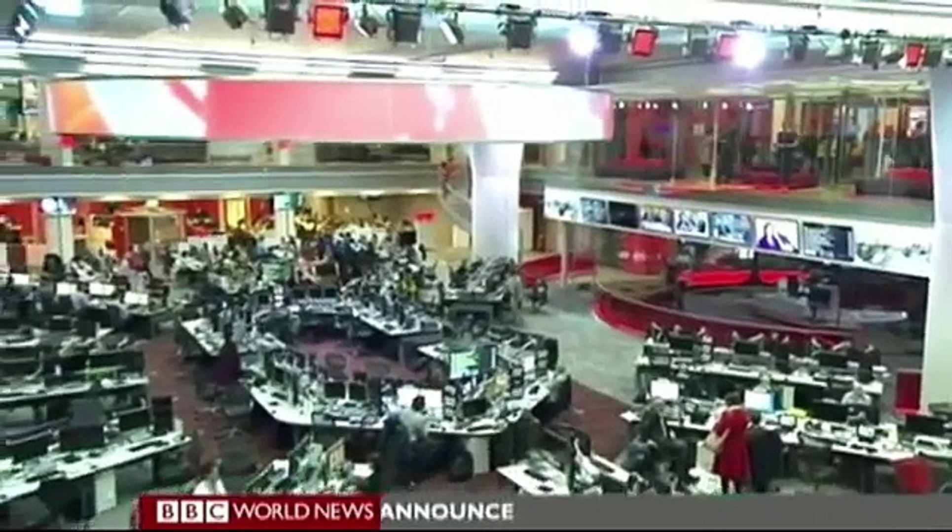 BBC New News Centre Live News Report