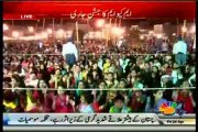 3-Day celebration underway at Jinnah Ground as MQM workers celebrate victory