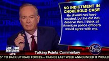 Bill O'Reilly's Response to No Indictment on NYPD Chokehold Eric Garner Case