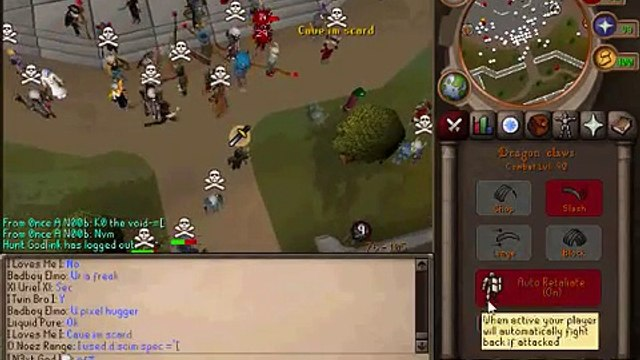 I N3xt God I - Lvl 90 Rune Pure Owning with AGS + Dragon Claws on first day - 250k Trade Price!
