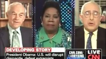 Ron Paul 2012, called names during a TV debate this week