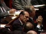 Accrochage à l'Assemblée Nationale entre Pierre BEREGOVOY et Jacques CHIRAC - Archive vidéo INA