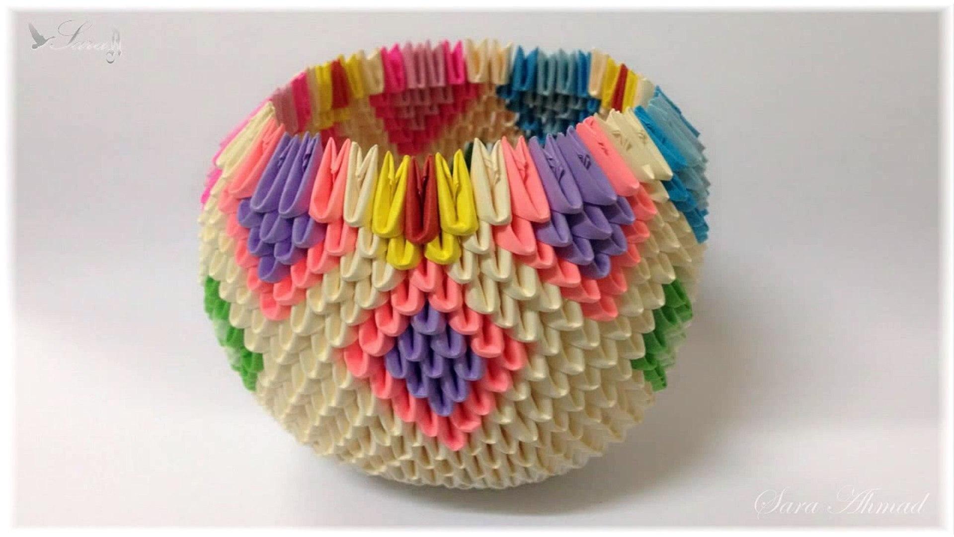 3D-Origami-paper-basket - Destiny's Child | 1080x1920