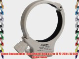 Canon Replacement Tripod Mount Ring A II for EF 70-200 f/4L USM White Finish