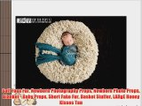 Soft Faux Fur Newborn Photography Props Newborn Photo Props Blanket - Baby Props Short Fake