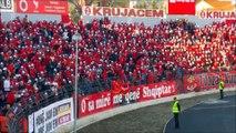 Atmosfera Në Elbasan Arena Gjatë Ndeshjes Shqiperi 2 - 1 Armeni Golat 2015