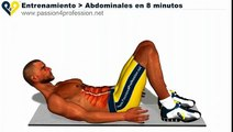 Abdominales en 8 minutos, entrenamiento para hacer abdominales perfectos