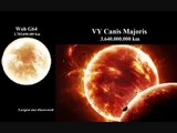 Comparison Of The Entire Universe With Sizes. Planets, Stars, Nebulas, Galaxies And Clusters.