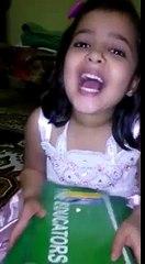 Cute Baby Mocking Meera