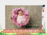 Basket Stuffer Pink Faux Flokati Wool or Faux Fur Newborn Photography Props Newborn Photo Props