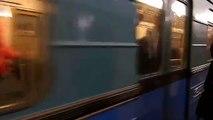 Riding Moscow's metro (underground, subway)