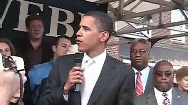 The Virginia Voltmeter 09.20.06: Barack Obama on Jim Webb