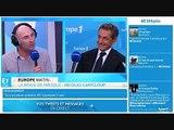 Nicolas Canteloup devant Sarkozy imite DSK