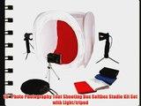 16 Photo Photography Tent Shooting Box Softbox Studio Kit Set with Light/tripod