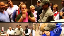 Gov. Perry Visits Hurricane Ike Evacuees
