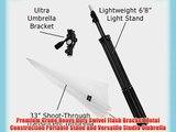 Fotodiox KIT-Umb-Bkt-Ultra-Ca Ultra Heavy Duty Flash Umbrella Bracket Kit with 1x Ultra Bracket