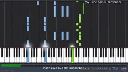 Bruno Mars - It Will Rain (Piano Cover) by LittleTranscriber