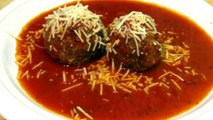 Homemade Italian Meatballs - How to Make Meatballs - Meatball Recipe