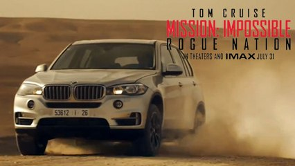 BMW X5 In Mission Impossible 5 – Rogue Nation