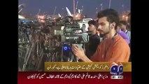 Geo News Headlines 25 April 2015_ MQM Kanwar Naveed Thanks Karachi Public