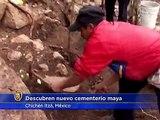 Descubren nuevo cementerio maya cerca de Chichén Itzá