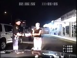 The Sobriety Test From Hell ~ Talk about a FAIL!!  Drunk girl fails big time